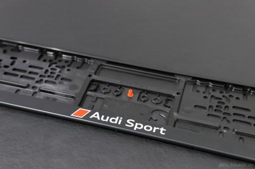 Audi Kennzeichenhalter