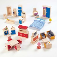 Buy Small World Dolls House Rooms Furniture Set | TTS