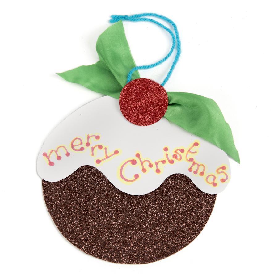 Buy Christmas Pudding Cards 30pk TTS