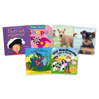Buy Touch and Feel Baby Books 6pk | TTS