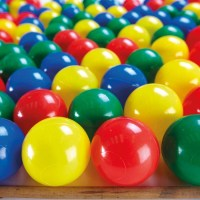 Buy Plastic Ball Pool Balls 100pk | TTS