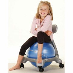 Gym Ball Chair Uk Recliner Spring Replacements Adhd Surviving Sitting Resources From Tts Balance Fit