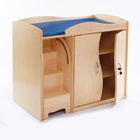 Buy Walk Up Baby Changing Table with Steps | TTS