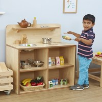 Buy Toddler Wooden Role Play Kitchen Unit | TTS