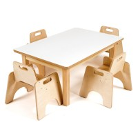 Buy Rectangular Toddler Low Table H380mm | TTS