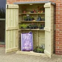 Buy Outdoor Wooden Lockable Storage Cupboard | TTS