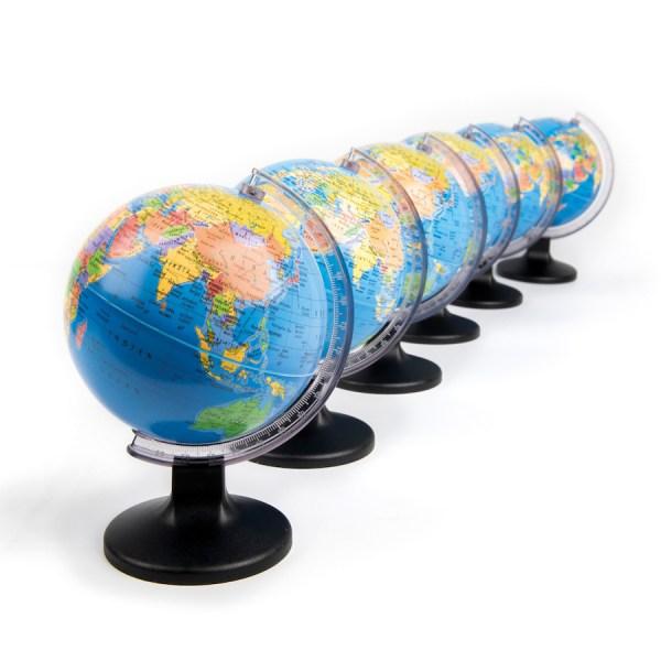 Buy Mini Globe 6pk TTS