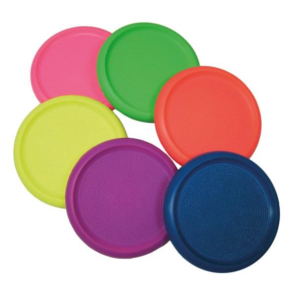 Rainbow Foam Frisbees 6pk Tts