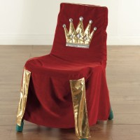 Buy Sparkly Throne Chair Cover | TTS