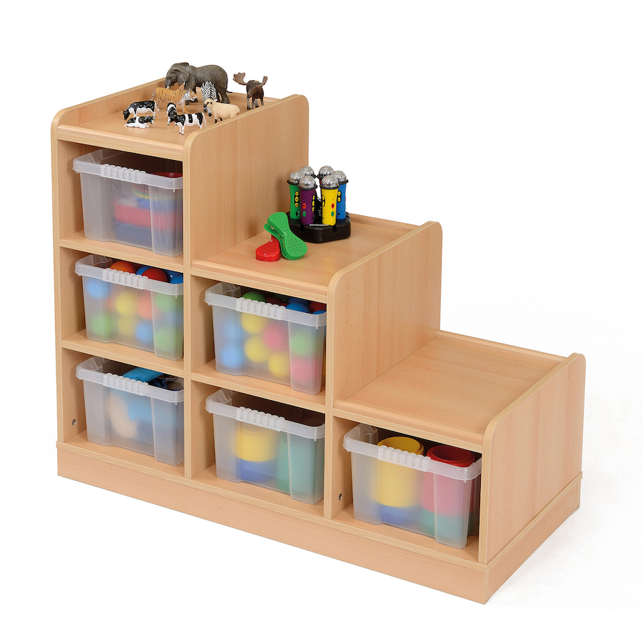 Buy Wooden Tiered Tray Storage Unit  TTS