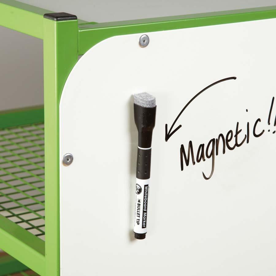 Buy Black Magnetic Whiteboard Markers 10pk  TTS