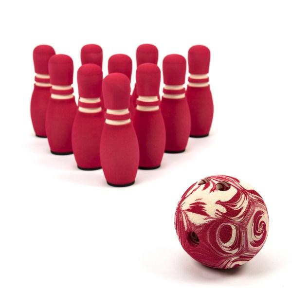 Bowling Pins and Ball Set