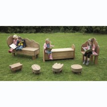 Outdoor Wooden Seating Furniture Range Tts