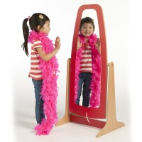 Buy Role Play Wooden Dressing Up Mirror | TTS