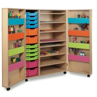 Art Storage Cupboard | Ideal For Schools & Free Delivery | TTS