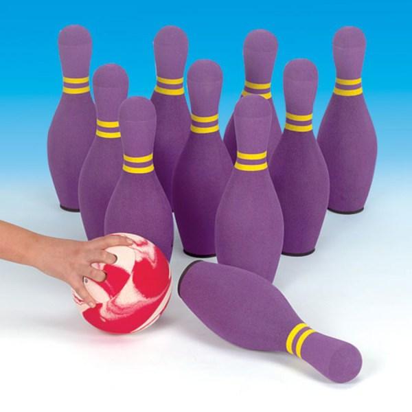 Foam Bowling Pin Set