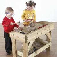 Buy Outdoor Wooden Work Bench and Trestle | TTS