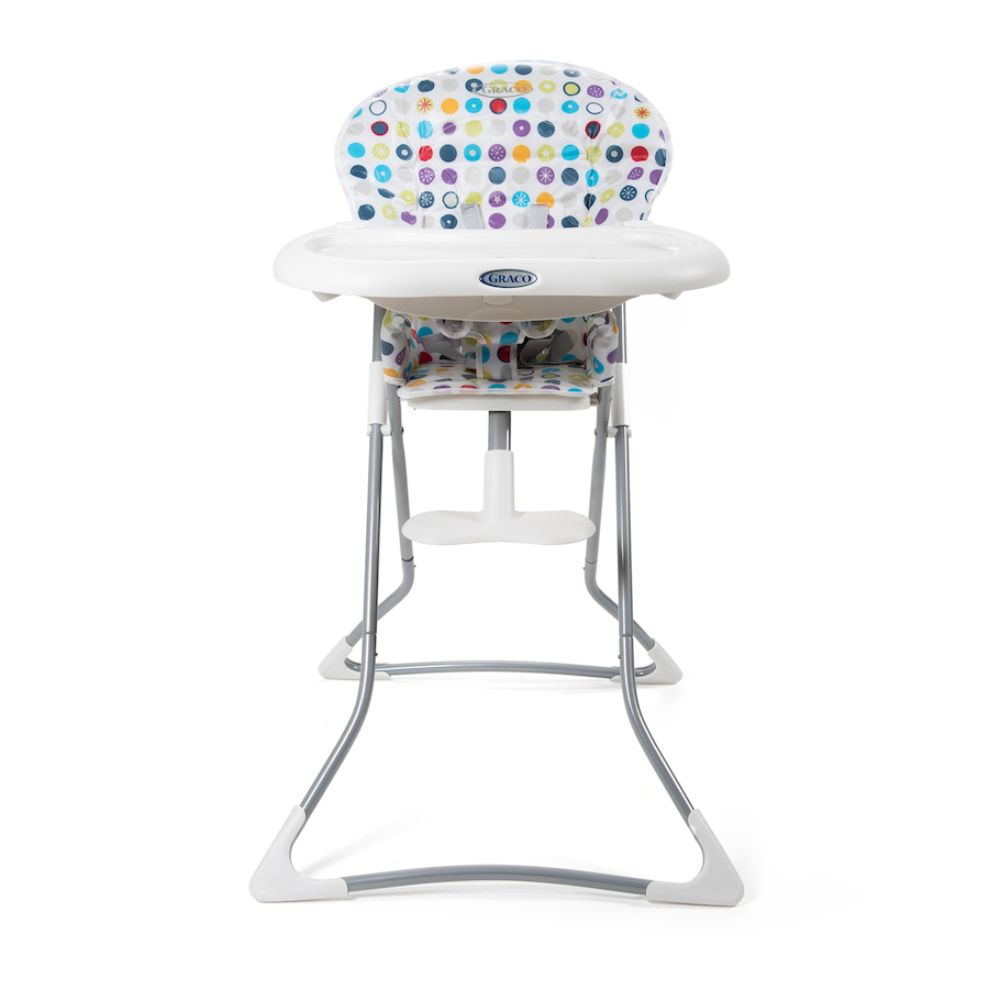 Buy Folding Patterend Baby High Chair Tts