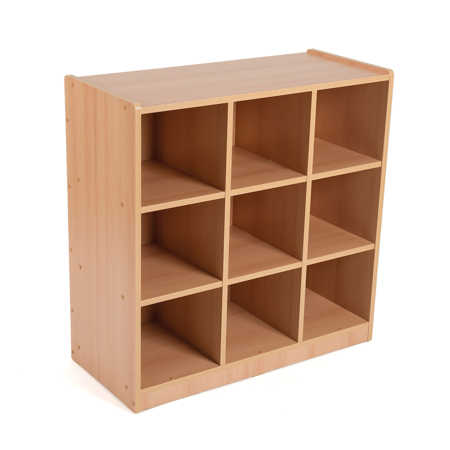 Buy Open Storage Unit with Nine Large Compartments  TTS