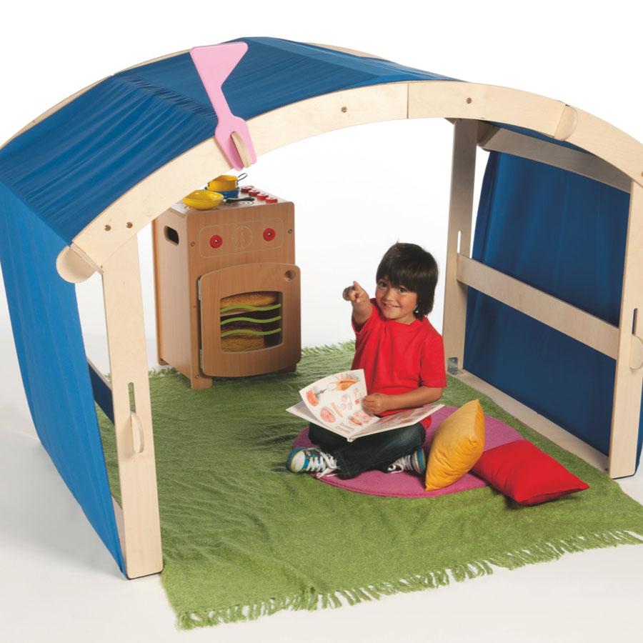Buy IndoorOutdoor Wooden Folding Den  TTS