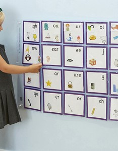 Phonics pocket wall chart small also buy tts international rh