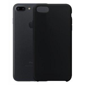 SALE Siliconen hoesje voor Apple iPhone 7 Plus / 8 Plus – Zwart