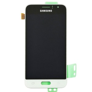 J1 2016 LCD / Scherm voor Samsung Galaxy J1 (2016) – Origineel – Service pack – Wit