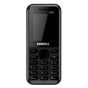 Khocell Telefoons Khocell – K024 – Mobiele telefoon – Met prepaid – Zwart