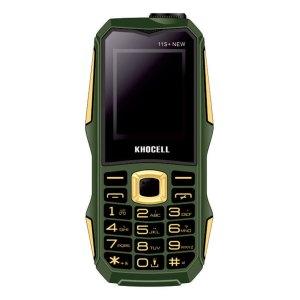 Khocell Telefoons Khocell – K11S+ – Mobiele telefoon – Met prepaid – NEW Green