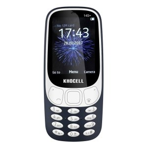 Khocell Telefoons Khocell – K14S+ – Mobiele telefoon – Met prepaid – Donker blauw