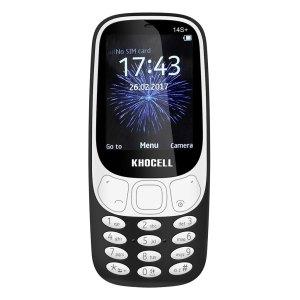 Khocell Telefoons Khocell – K14S+ – Mobiele telefoon – Met prepaid – Zwart