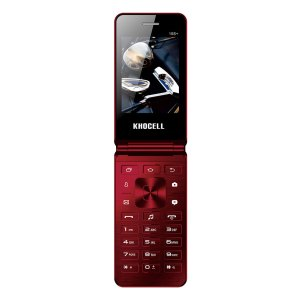 Khocell Telefoons Khocell – K15S+ – Mobiele telefoon – Rood
