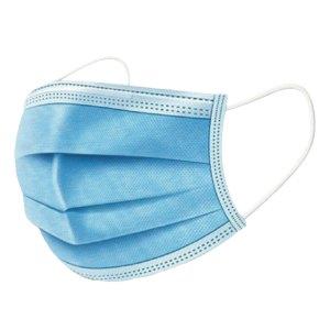 Mondkapjes Wegwerp Mondmaskers / Mondkapjes met elastiek – Blauw (vanaf 45 cent per stuk)