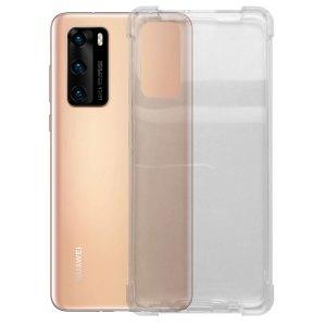 Huawei hoesjes Huawei – P40 – Schok bestendig – Siliconen hoesje – Transparant