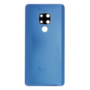Onderdelen Mate 20 Achterkant met camera lens voor Huawei Mate 20 – Blauw