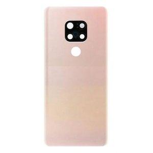 Onderdelen Mate 20 Achterkant met camera lens voor Huawei Mate 20 – Roze