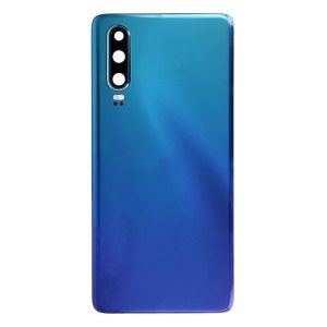 P30 Achterkant met camera lens voor Huawei P30 – Blauw