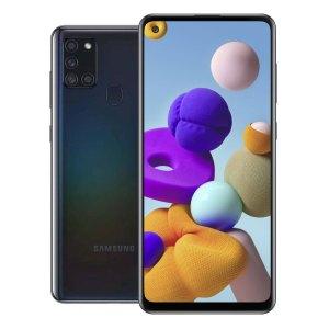 Samsung telefoons Samsung – Galaxy A21S – Dual-Sim – 32GB – Zwart