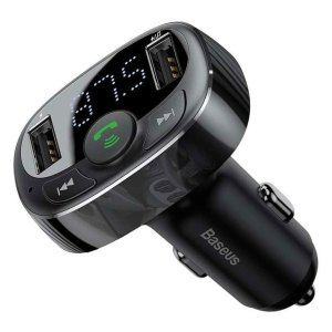 Adapters Baseus – T-typed – S-09 – Carkit – Fm transmitter – Wireless MP3 Car Charger