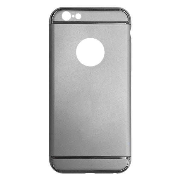 Apple hoesjes Fit Fashion – Hardcase Hoesje –  Geschikt voor iPhone 6 Plus/6S Plus – Zilver