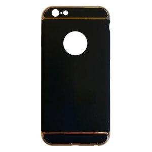 Apple hoesjes Fit Fashion – Hardcase Hoesje –  Geschikt voor iPhone 6 Plus/6S Plus – Zwart