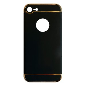Apple hoesjes Fit Fashion – Hardcase Hoesje –  Geschikt voor iPhone 7 – Zwart