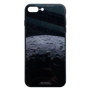 Apple hoesjes WK Design – Azure Stone Series – Hardcase – Voor iPhone 7 Plus / 8 Plus – Maan – Zwart