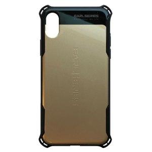 Apple hoesjes WK Design – Earl Series – Hardcase – voor iPhone X / XS – Goud