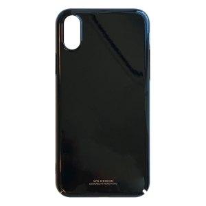 Apple hoesjes WK Design – Hardcase hoesje geschikt voor iPhone X / iPhone XS – Zwart