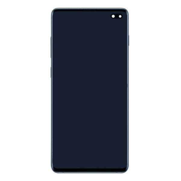 S10 LCD / Scherm met frame voor Samsung Galaxy S10 – Origineel – Service pack – Prism Blue