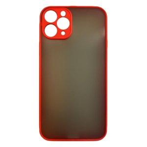 Apple hoesjes My Choice – Siliconen/Hardcase hoesje voor Apple iPhone 11 Pro Max – Oranje