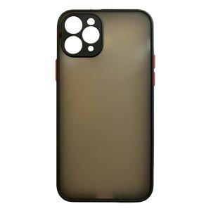Apple hoesjes My Choice – Siliconen/Hardcase hoesje voor Apple iPhone 11 Pro Max – Zwart