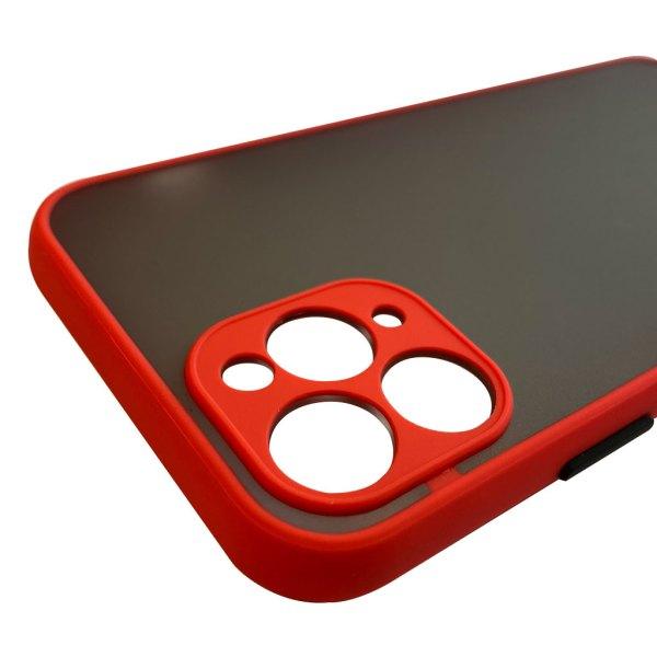 Apple hoesjes My Choice – Siliconen/Hardcase hoesje voor Apple iPhone 11 Pro – Oranje