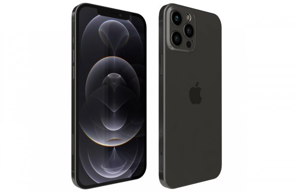 Apple Telefoons Apple – iPhone 12 Pro – Mobiele telefoon – 256GB – Graphite– NIEUW!!! (Marge toestel)